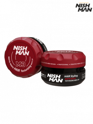 Матовая паста Nishman Hair Texturizing M3 Mess Up 100 мл