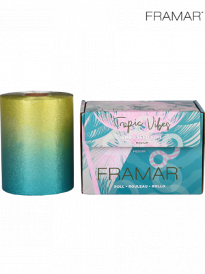 Фольга рельефная Framar Embossed Roll Tropic Vibes 97,5 м