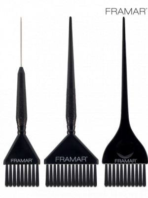 Набор кистей Framar Family Pack Brush Set Black