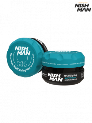 Матовый воск Nishman Hair Styling Wax M4 Matte Finish 100 мл